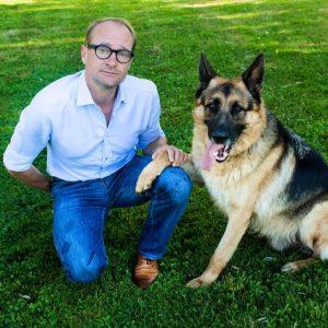 Minister Ben Weyts en hond Jerry