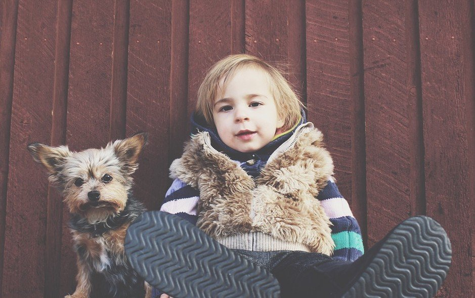 Honden en kinderen niet toegelaten