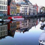Wandelen en kuieren in Gent (België)
